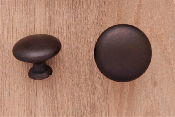 Gałka meblowa w kolorze ciemny brąz